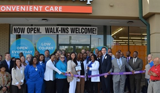 Convenient Care at Hazelwood marks official opening with ribbon-cutting ceremony